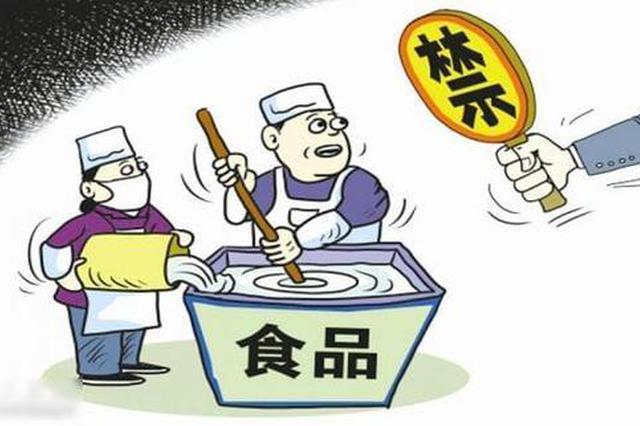 贵州省市场监管局曝光9个批次不合格食品