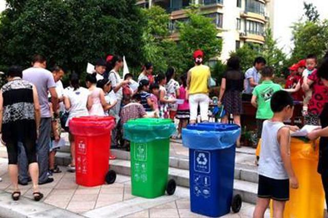 大山洞社区:志愿者宣传垃圾分类