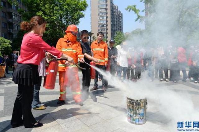 二戈寨社区:消防安全大排查