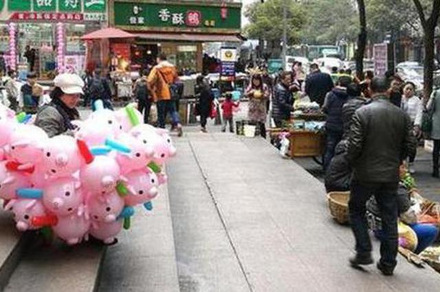 延中社区:整治流动烧烤点
