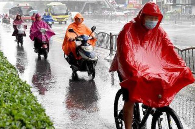 本周低温阴雨