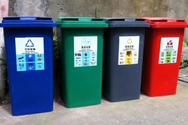 碧海社区:开展垃圾分类宣传