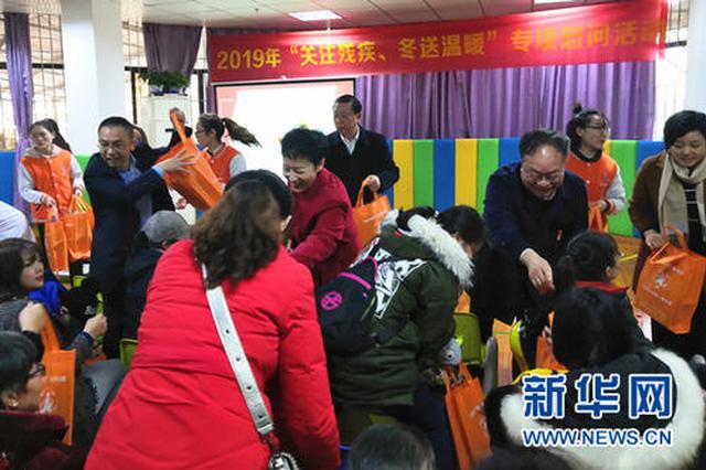 威清社区慰问辖区百岁老人
