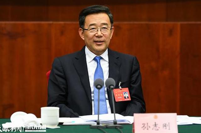 孙志刚在参加省政协十二届三次会议联组讨论时强调:同心迎接