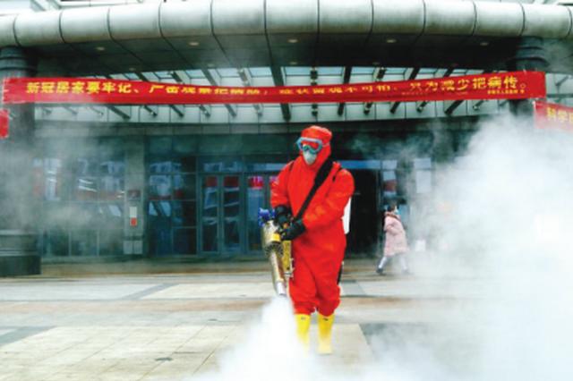 安顺消防救援支队 10支机动队开展防疫消毒