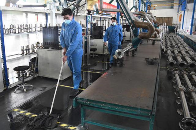 全省规模以上工业企业复产率突破六成