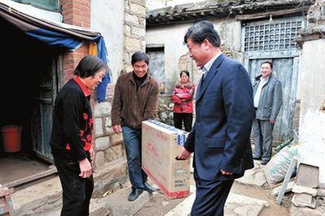 钟山广电网络分公司 2000多台电视赠送贫困户