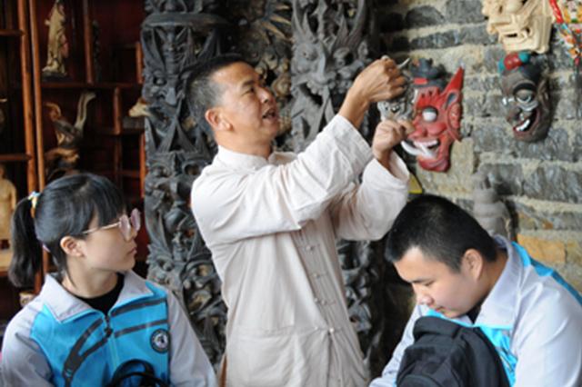 """民间博物馆与学校""""携手""""传播传统文化"""