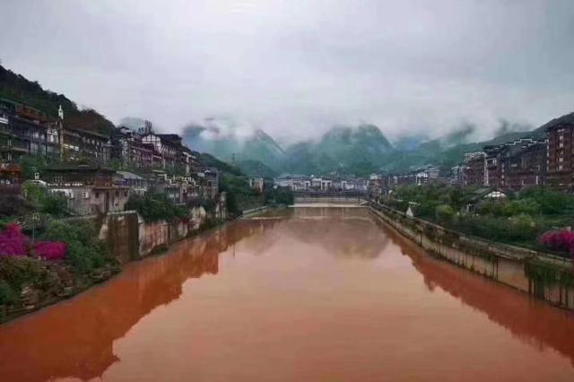 赤水河 河水赤