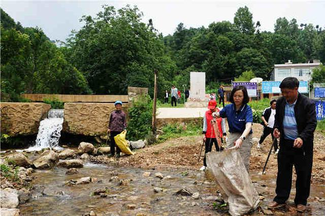 """第十七期""""贵州河流日1+2行动""""举行,994名志愿者用行动守护河湖"""