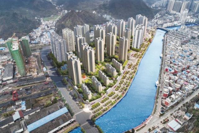 都匀市大龙田货场片区打造滨江商业长廊