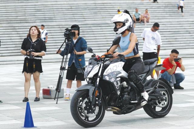 贵州首届最美女骑摩旅形象大使选拔赛收官