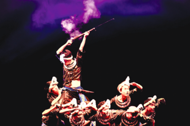 贵州省歌舞剧院50场文艺演出走进景区