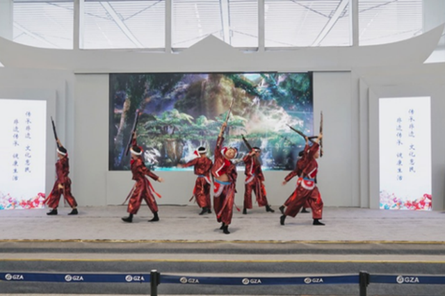 打卡龙洞堡机场、惠水欢乐岛 非遗周末聚精彩来袭