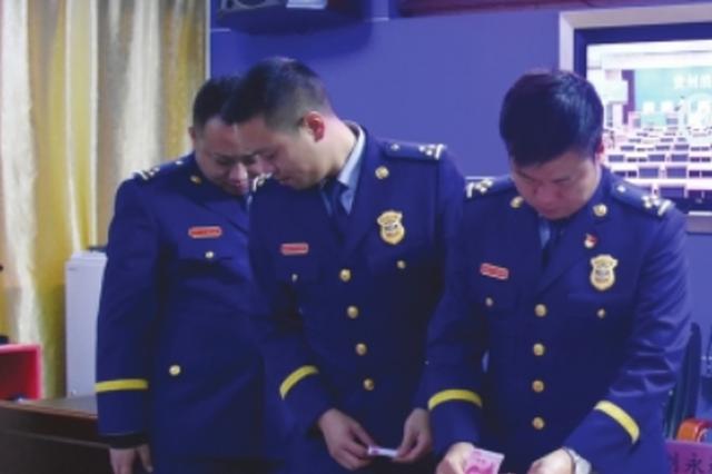 安龙县消防救援大队捐款2872元