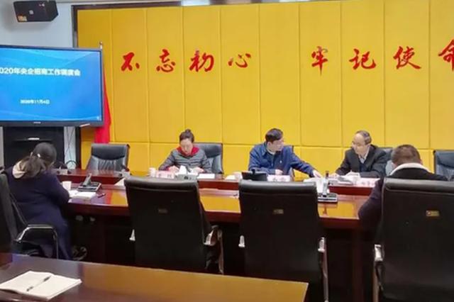 压实数据 央企招商不停歇 ——贵州省投资促进局召开央企招商工作调度会