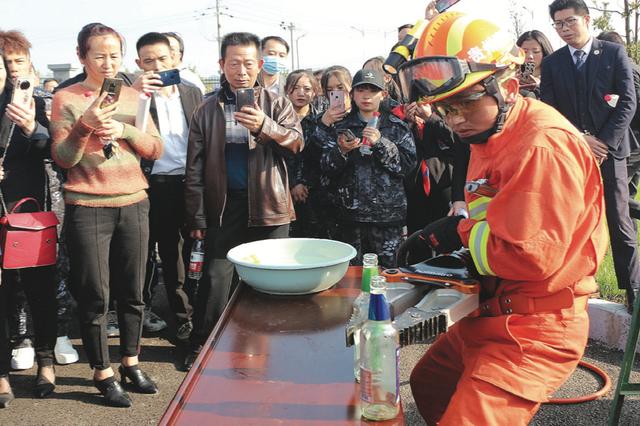 安顺开展119消防宣传月活动