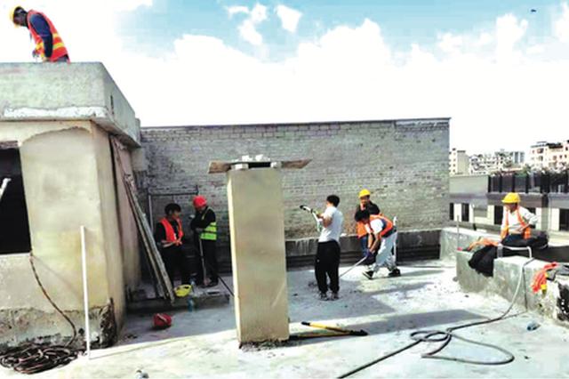 金阳街道今年已拆除违建6000余平方米