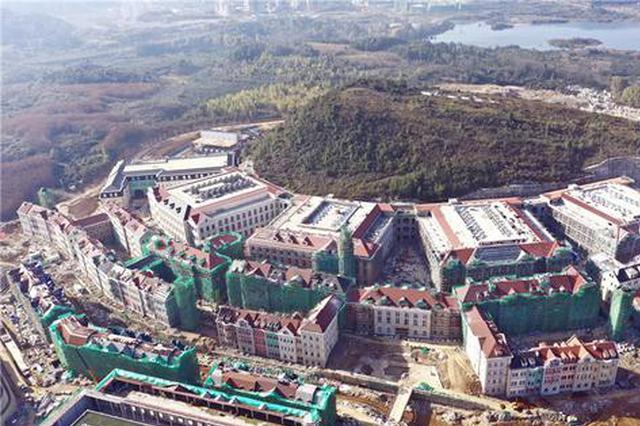 【图集】贵安华为云数据中心项目雏形初现 预计今年6月整体竣