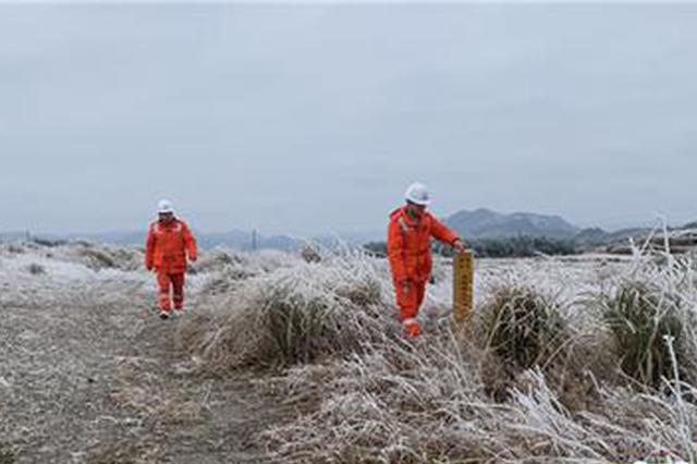 贵阳输油气分公司:低温凝冻天气作业 确保天然气供气安全平稳