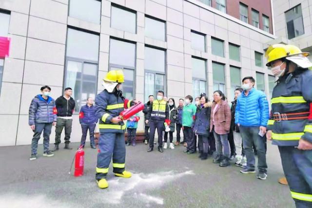 贵安高端装备制造产业园 开展消防应急演练