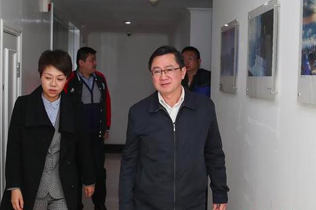 王茂爱赴中国新闻社贵州分社调研慰问