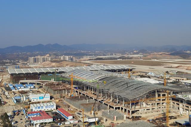 贵阳龙洞堡机场三期扩建工程将于6月完工