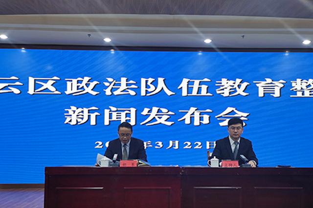 贵阳市白云区政法系统开展政法队伍教育整顿工作