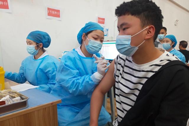贵安新区高校开展新冠肺炎疫苗接种工作