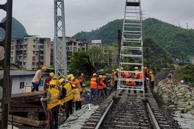 中国西南最大跨度D型便梁架设施工启动