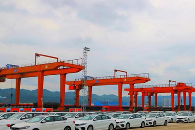 今年一季度 贵阳南站货物发送和运输收入同比双增近5成