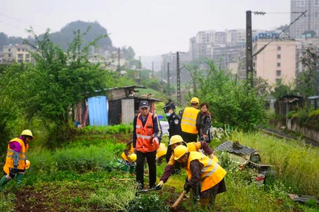 贵阳:多部门联合整治非法侵占铁路用地