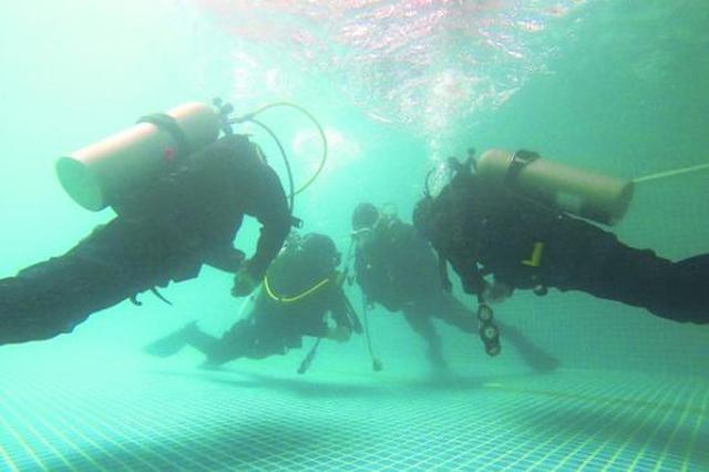 贵安消防打造水下救援力量