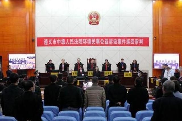 贵州首例涉喀斯特溶洞地质资源保护民事公益诉讼案被强制执行