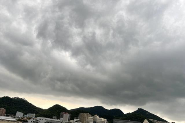 乌云压顶了~~下了这场雨,贵州又是晴天