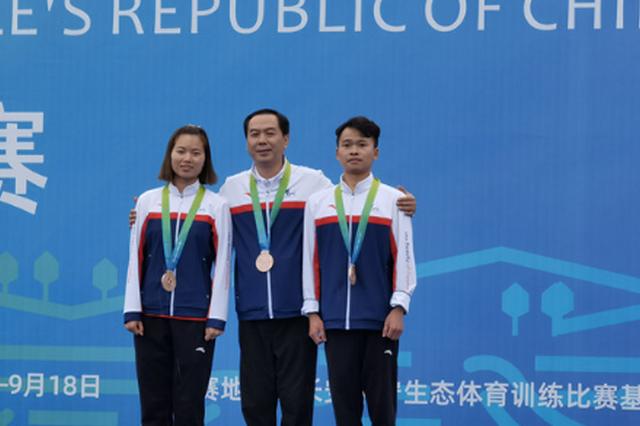 铜牌!贵州射击老带新赢了奥运组合联队