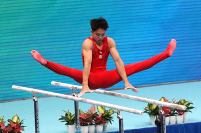 貴州省體操隊獲全運會男子團體第四名