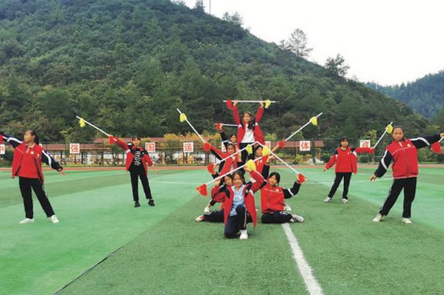 乌当下坝学校的课后托管 把村里的民俗文化搬到校园