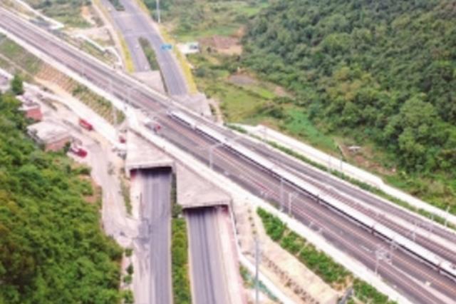 贵阳环线铁路开始试运行