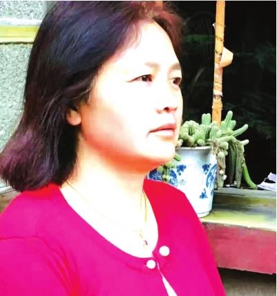 杨永凤女士。 图片由受访者提供