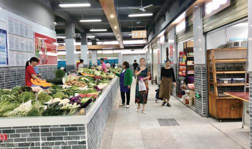 延安西路農貿市場升級改造完成