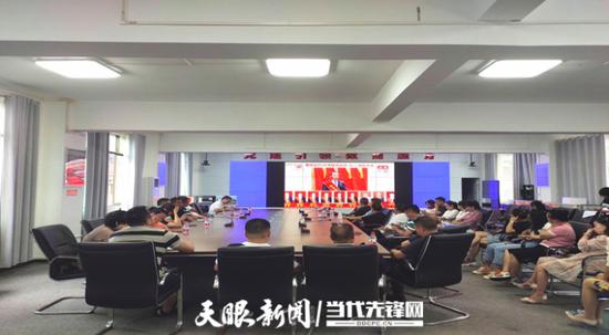 """花溪区溪北街道:""""党建+""""引领推进""""三感""""社区建设"""