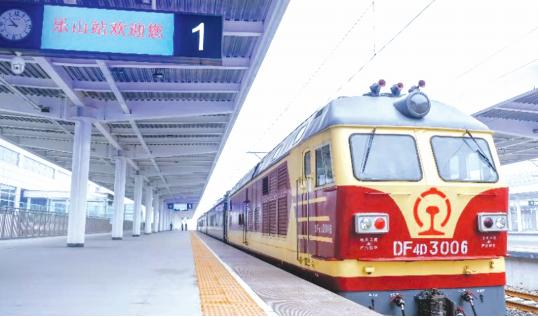 成贵高铁四川段开始联调联试