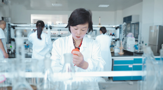 张丽艳长期从事中药质量控制与新药研究