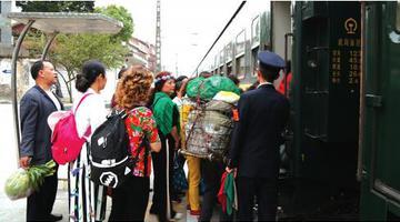 川黔铁路只留一趟慢车