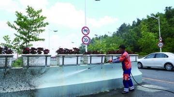 贵阳:城管系统美化环境 扮靓爽爽贵阳