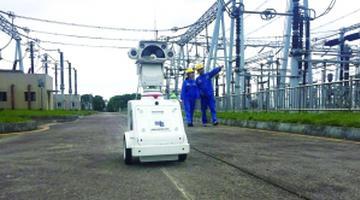 贵阳供电部门引进三台智能机器人