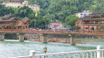 三都县:九级大风造成部分群众落水伤亡