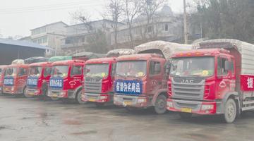 遵义销毁百吨假劣商品 装了11辆大货车