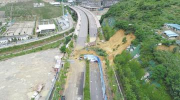 貴陽北京西路進城向恢復通行